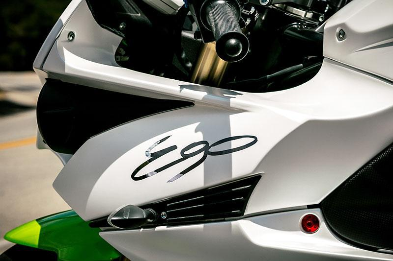 Energica EGO color blanc