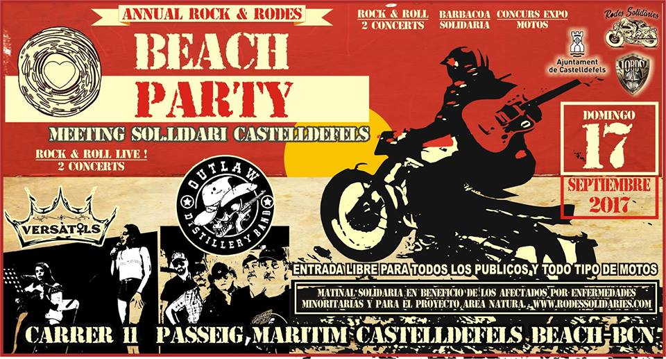 ROCK & RODES BEACH PARTY
