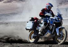 Africa Twin Adventure Sports 2018