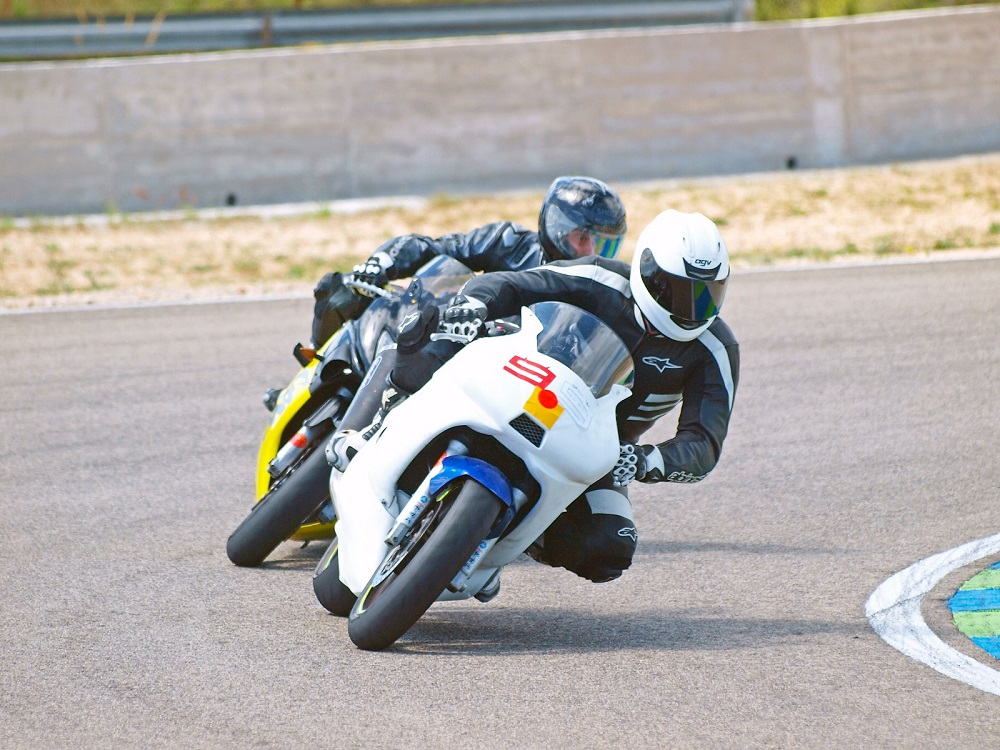 Adri vs David al Circuit de Calafat