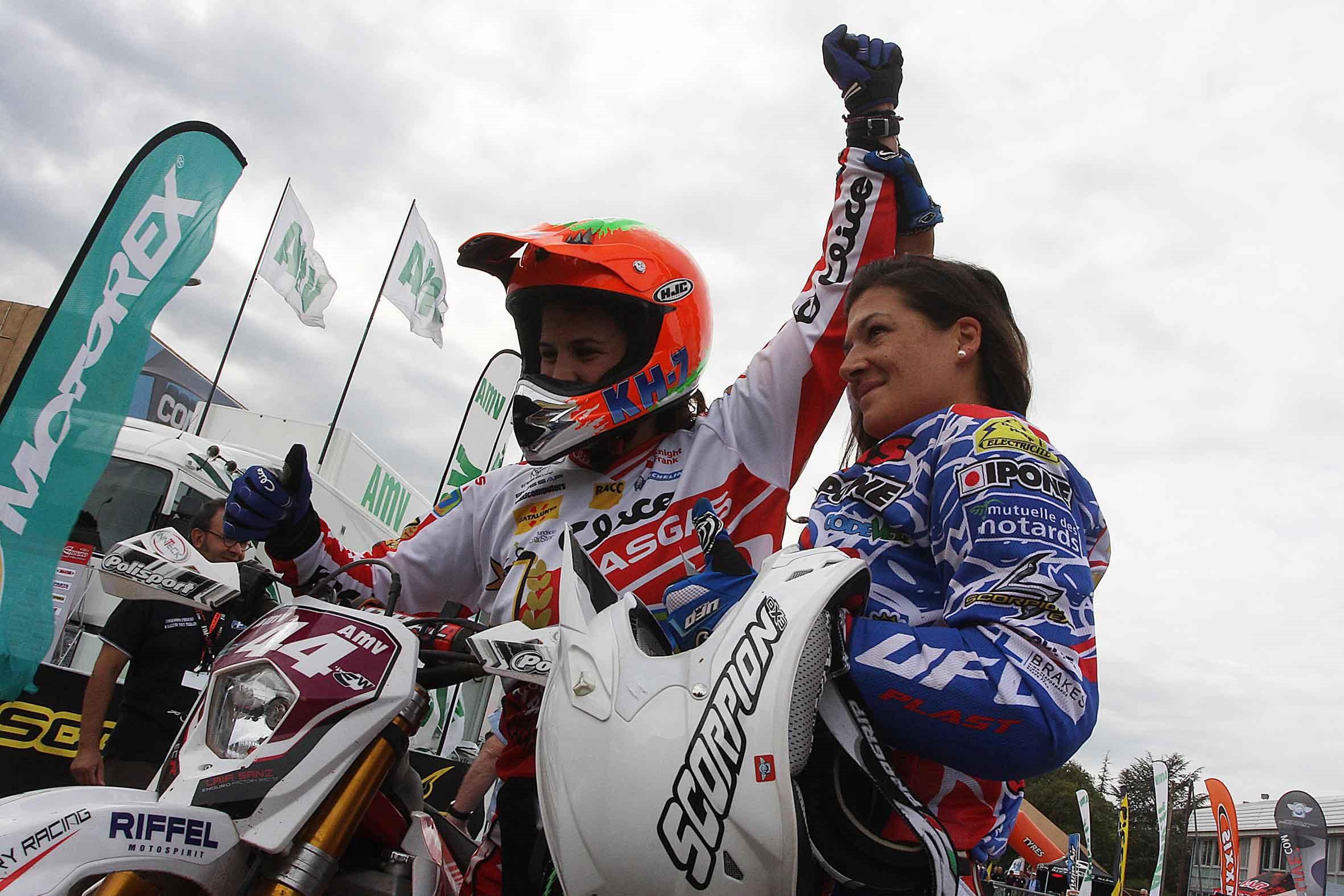 Laia Sanz es proclama campiona del món d'Enduro el 2012