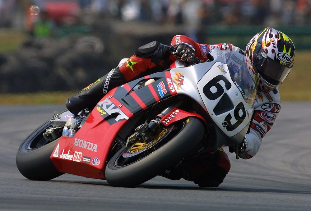Nicky Hayden en el Campionat de Superbikes dels EUA del 2002