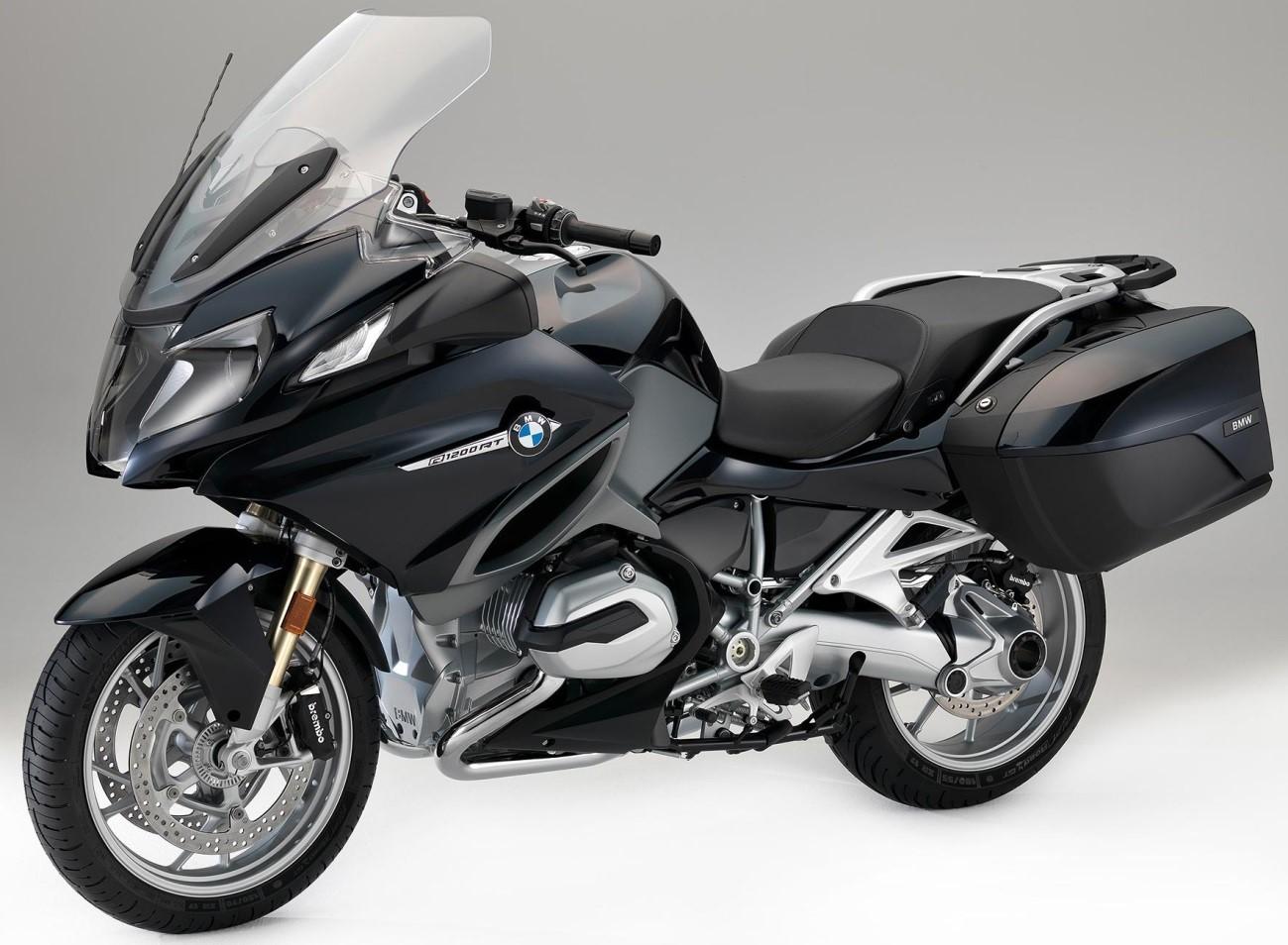 BMW R 1200 RT color negre carbó metal·litzat