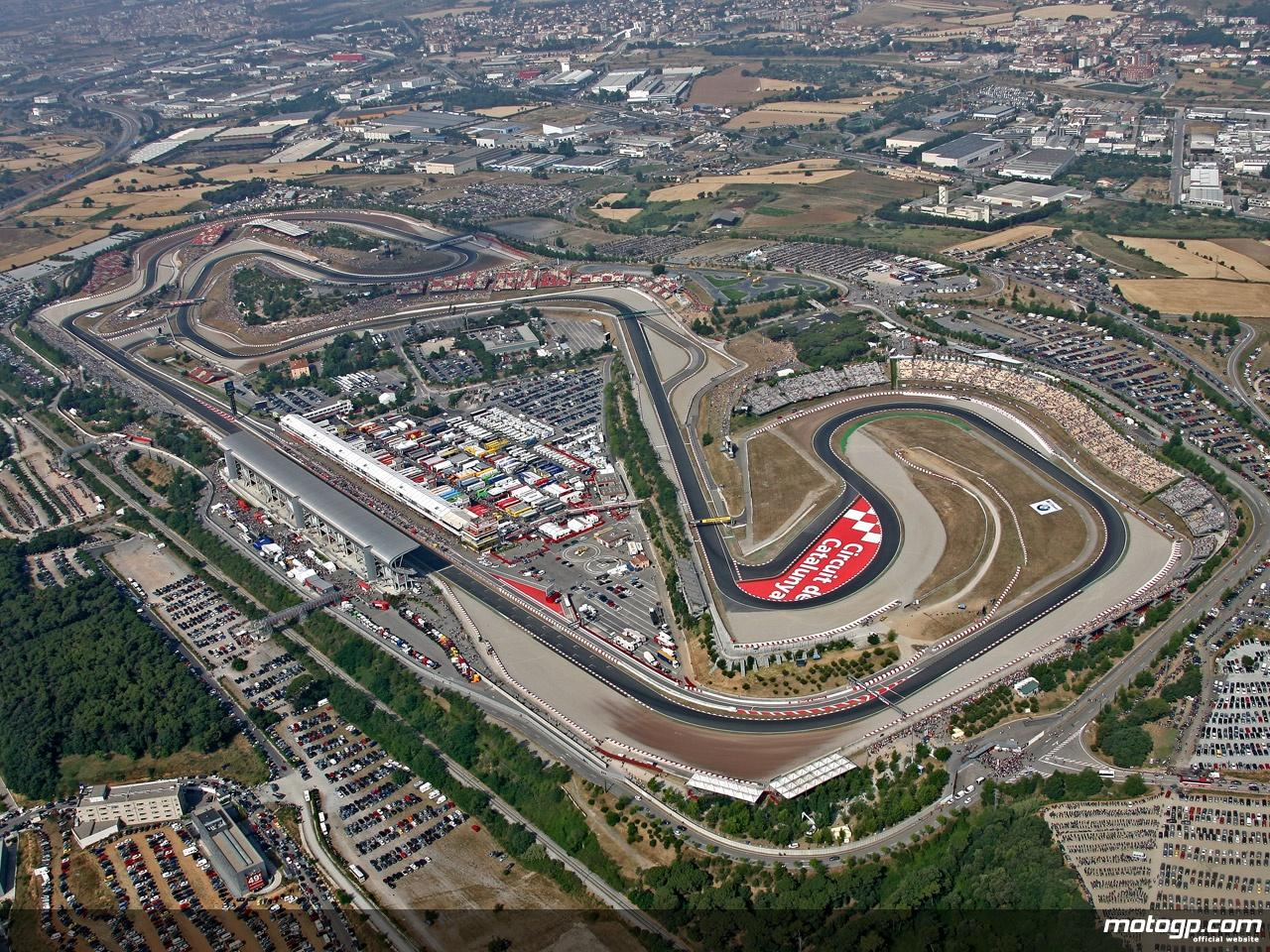 Imatge aèria del Circuit de Barcelona-Catalunya