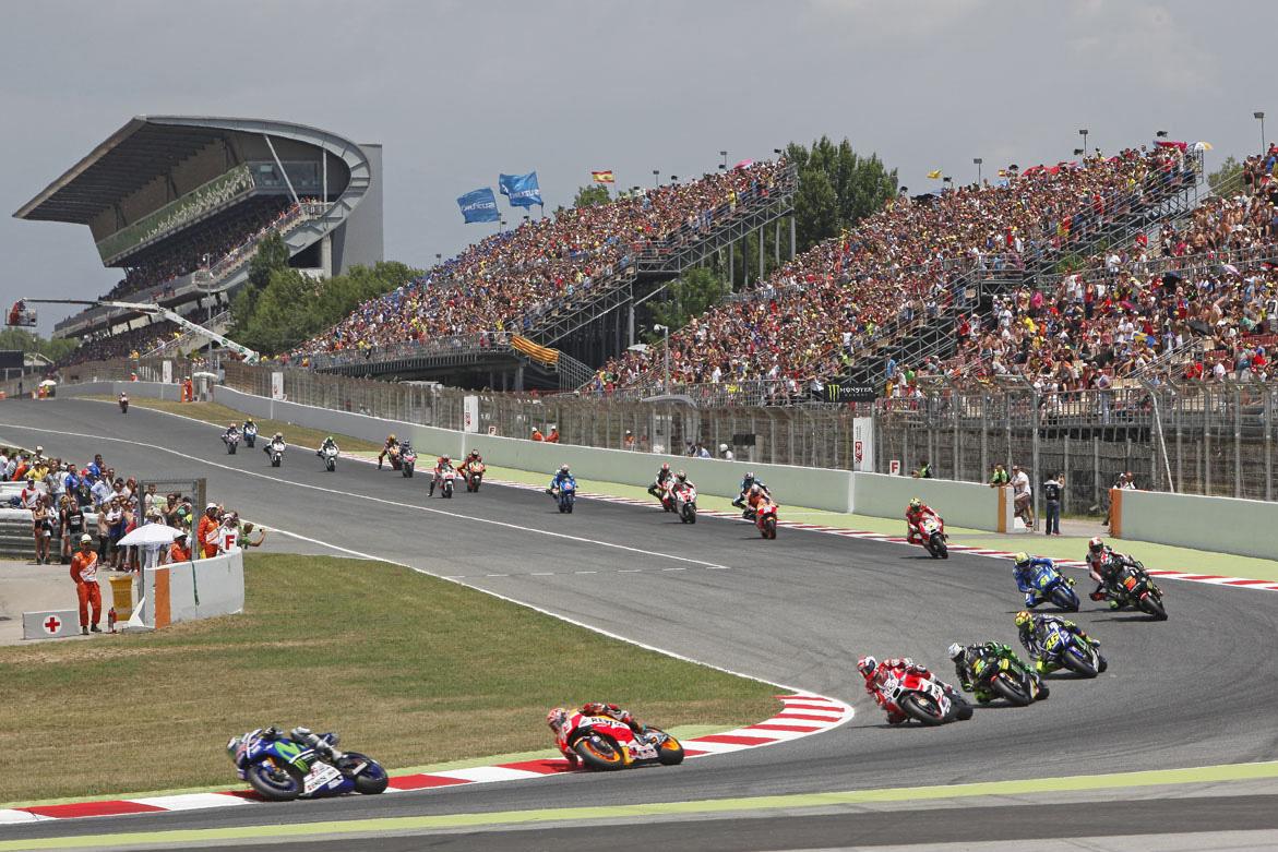 Motos al Circuit de Montmeló
