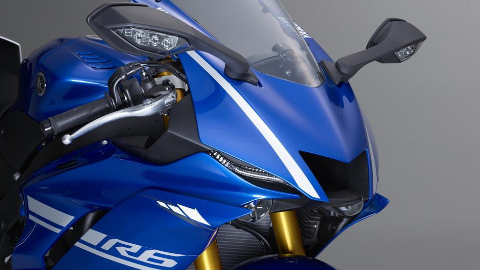 Yamaha YZF-R6 lateral frontal