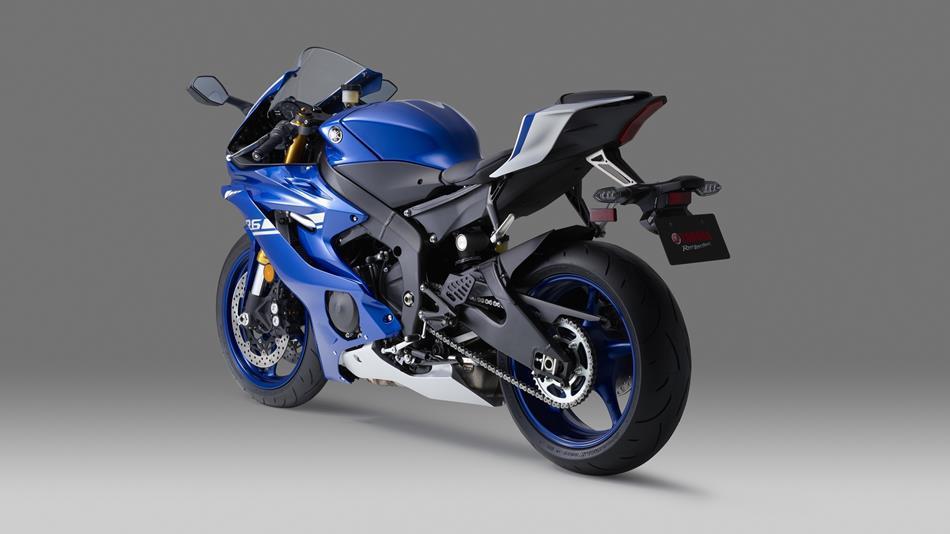 Yamaha YZF-R6 lateral