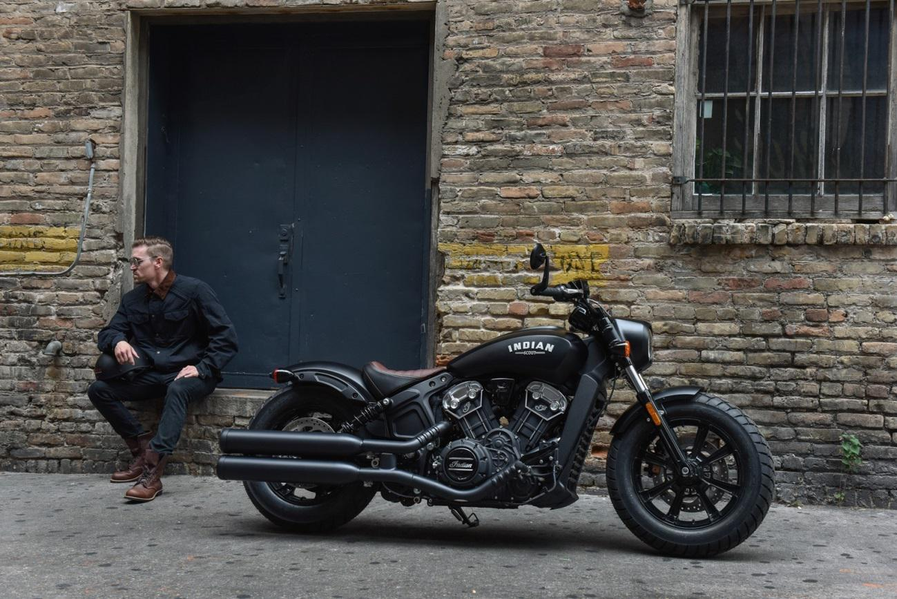 Indian Scout Bobber 2018 exterior