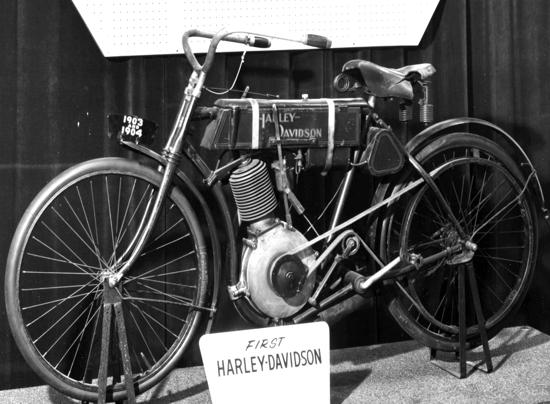 Primera Harley-Davidson