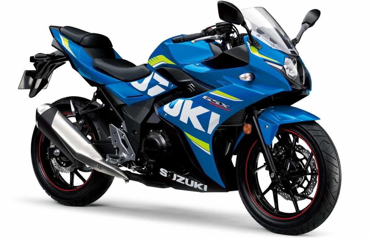 Suzuki GSX250R blau rèplica de MotoGP