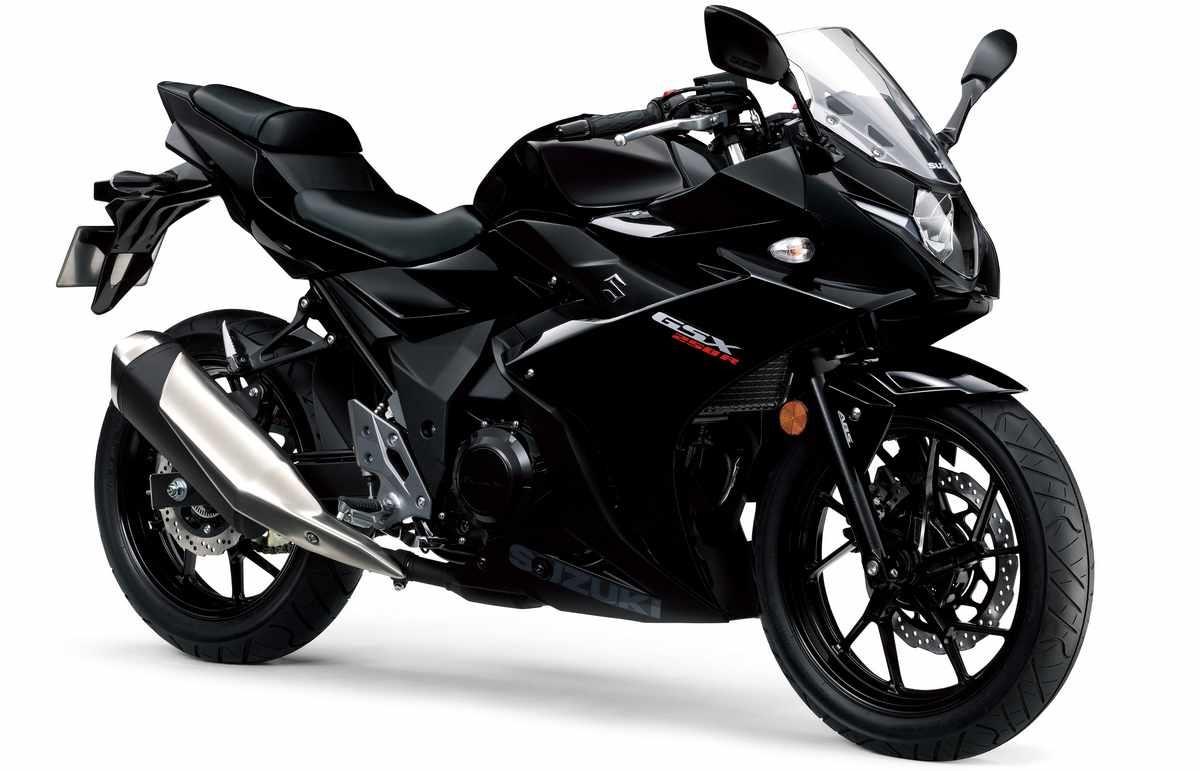 Suzuki GSX250R color negre