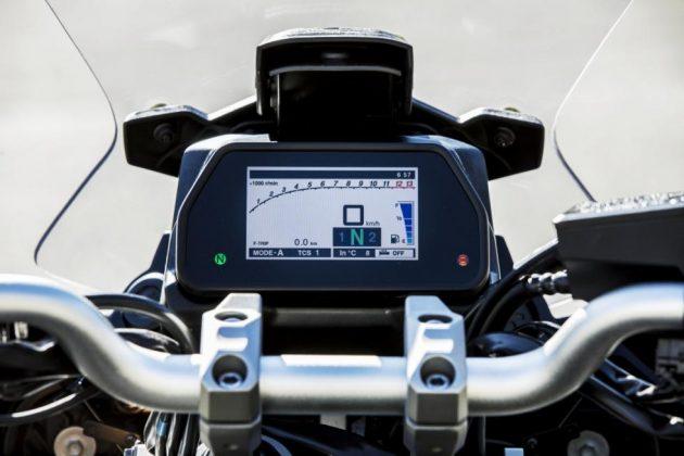 Nova pantalla TFT Yamaha Tracer 900GT