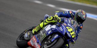 Valentino Rossi a l'IRTA TEST de Jerez