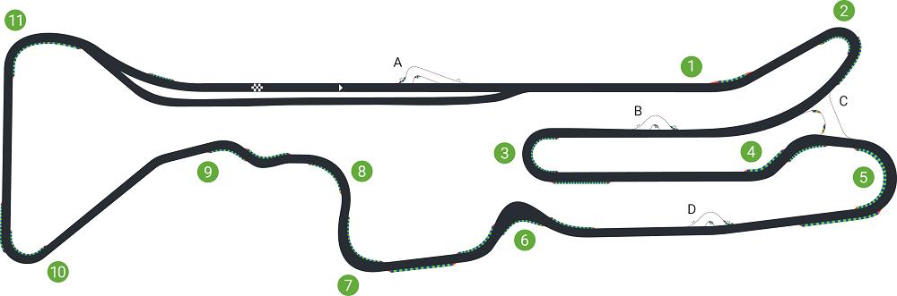 Traçat del Circuit de Calafat